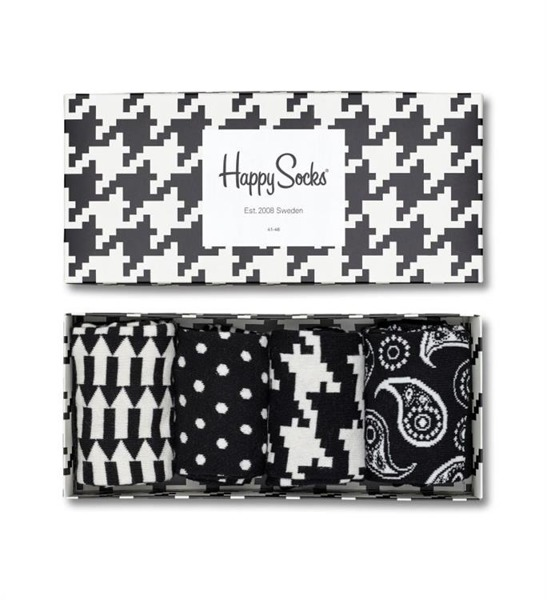 Giftbox (4-pak) skarpetki Happy Socks XBLW09-9000