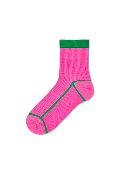 Skarpetki HYSTERIA Lily Rib Ankle Sock (SISLIL12-3000)