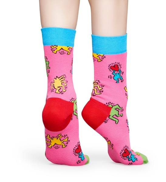 Skarpetki Happy Socks x Keith Haring KEH01-3000
