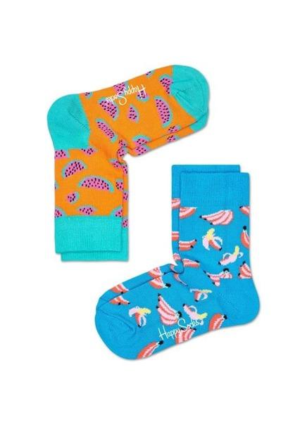Skarpetki dziecięce (2-pak) Happy Socks KBAN02-6000