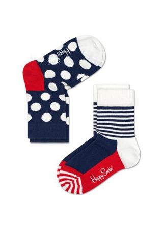 Skarpetki dziecięce (2-pak) Happy Socks KBDO02-6000