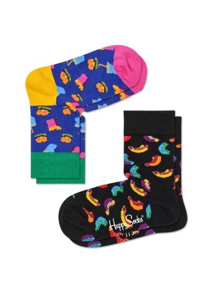 Skarpetki dziecięce (2-pak) Happy Socks KHAM02-6000