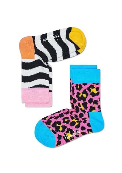Skarpetki dziecięce (2-pak) Happy Socks KWVY02-3000