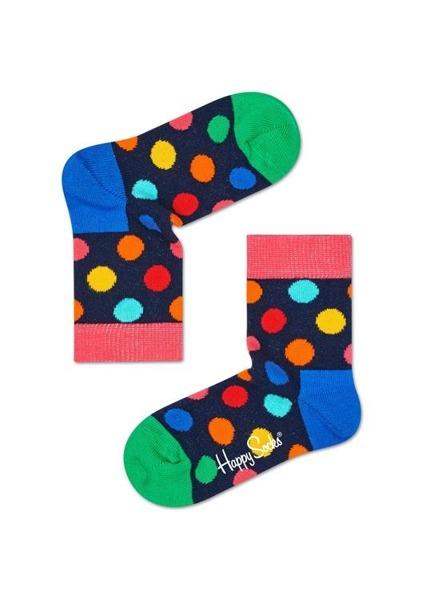 Skarpetki dziecięce Happy Socks Big Dot KBDO01-6001